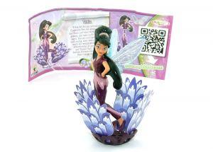 Vidia von den Disney Fairies mit Beipackzettel