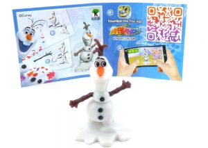 """Olaf aus der Serie """"Frozen 2"""" (Beipackzettel Nummer VU336)"""