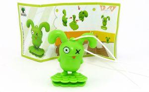 Ugly Dolls Figur VV283 aus dem Kinder Joy Ei 2021 mit Zettel