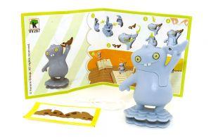 Ugly Dolls Figur VV287 aus dem Kinder Joy Ei von 2021 mit Zettel
