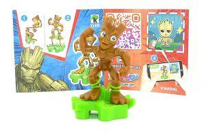 Groot Figur aus der Serie Marvel Heroes mit Beipackzettel Nummer VV400