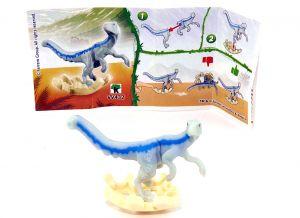 Velociraptor aus der Serie Jurassic World mit der Kennung VV432