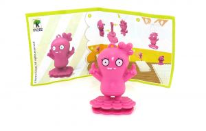 Ugly Dolls Figur VV282 aus dem Kinder Joy Ei von 2021 mit Zettel