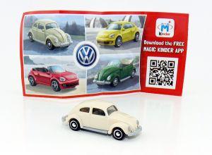 VW Käfer in weiß Beipackzettel FS235