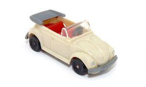 VW Käfer Cabriolet in weiß (Fahrzeuge nach Wiking Vorbild - Modellauto)