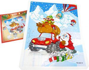 Schönes Weihnachtspuzzle 2012 aus dem Maxi Ei + Beipackzettel (Puzzle)