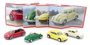 Komplettsatz VW Käfer Automodelle und Beetle aus dem Jahr 2015