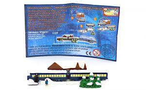 """3D Puzzle """"Wagon"""" mit deutschen Beipackzettel von Polarexpress"""