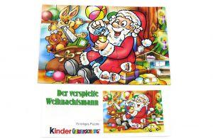 Puzzle vom Weihnachtsmann 2000 mit Beipackzztel