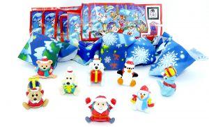 Die fliegenden Weihnachtsboten von 2011 (Komplettsatz)