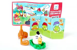 MATILDA mit Beipackzettel FF602 (Die Angry Birds)