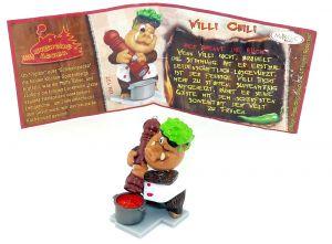 Willi Chili mit Beipackzettel (Duell in der Küche)