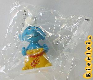 Windmühlenschlumpf aus dem Maxi Ei noch in Original Tüte