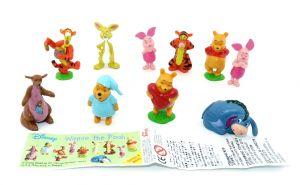Figurenstatz Winnie the Pooh mit Beipackzettel [Firma Zaini]