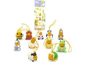 11er Set Figuren Winnie the Pooh von der Firma TOMY mit Beipackzettel