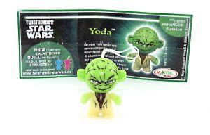Jedi Meister Yoda aus der Serie Star Wars - Twistheads mit Zettel