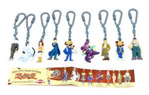 YU-GI-OH Figuren als Schlüsselanhänger Satz von Dolci Preziosi mit Beipackzettel