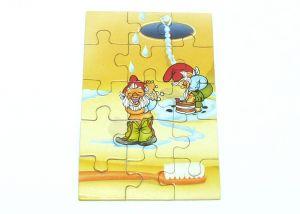 Puzzlecke unten links von den Badezimmerzwergen
