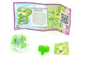 Zauber Ring von den Disney Fairies mit Beipackzettel
