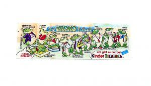 Beipackzettel von der Kroko Schule (Serienzettel)