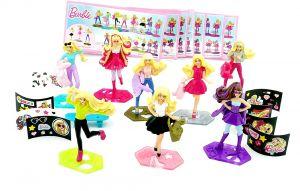 Figurensatz von Barbie 2016 mit Zubehör und allen Beipackzetteln