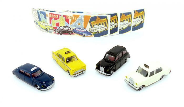 Satz Hallo Taxi mit allen Beipackzettel aus dem Jahr 2000