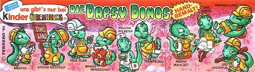 Die Dapsy Dinos, Bauarbeiter (Beipackzettel der Bauarbeiter)
