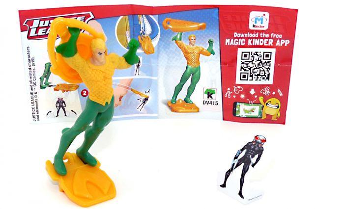Aquaman von den Justice League mit Beipackzettel DV415