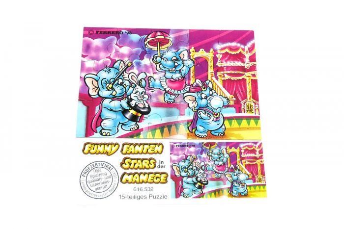 Fanny Fanten in der Manege Puzzlecke oben links