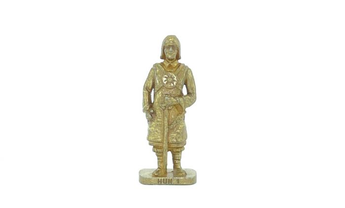 Hunne - Hun 1 in GOLD (Metallfiguren)
