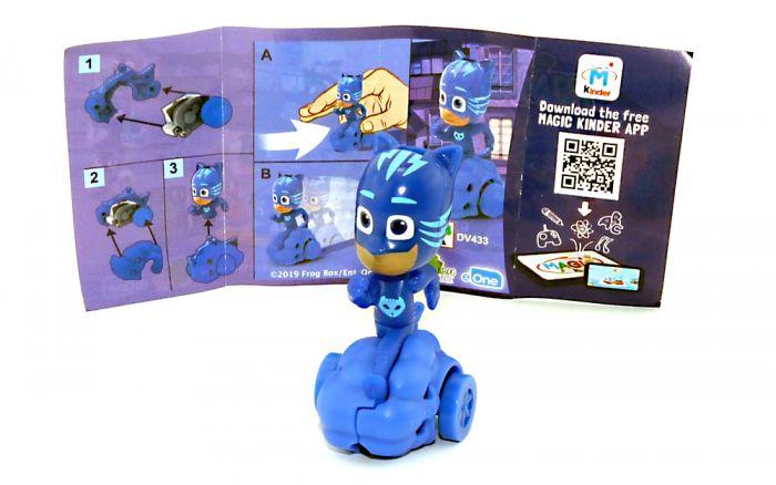 """CATATBOY Figur von den """" PJ Masks"""" mit Beipackzettel DV433"""
