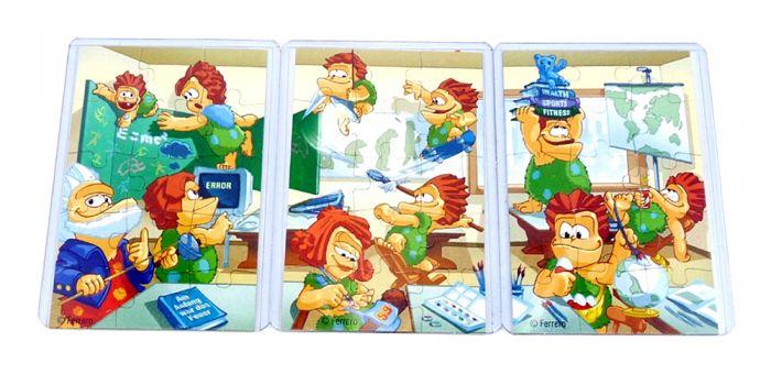 """Superpuzzle von """"Die Ötzis kommen"""" mit allen 3 Beipackzetteln"""