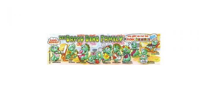 Beipackzettel der Die Dapsy Dino Family