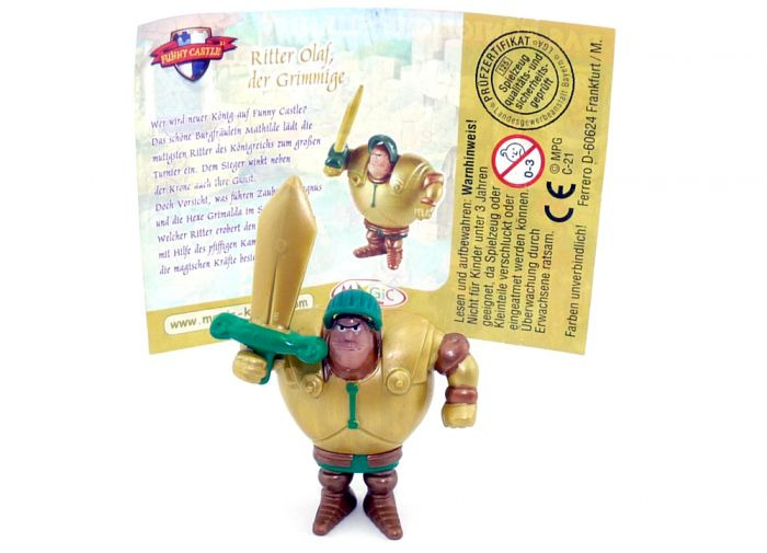 Ritter Olaf mit Beipackzettel (Das Königliche Turnier - Funny Castle)